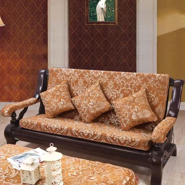 加厚/高密度海绵沙发垫/布艺/红木沙发垫子/实木沙发垫/坐垫包邮