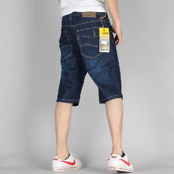 Джинсы мужские YANDONGFOX 2013 Прямые брюки Классическая джинсовая ткань 2013
