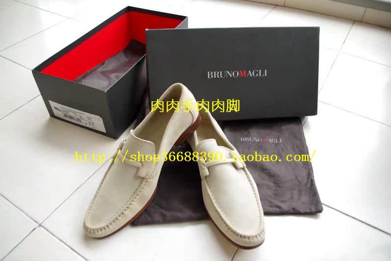 Демисезонные ботинки Бруно magli итальянской ручной работы замша случайные обуви 41,5 денежные ящики и упаковки всех оригинальных 1499