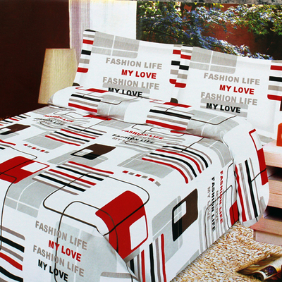 M thick cotton linens 1.01.2 1.51.8 Double cotton quilt sheets were custom-made bedding three family of four