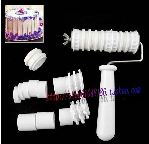 Форма для выпекания Фондант/сахар искусства торт ленты средств ролик набор цветов сахара, инструменты для выпечки
