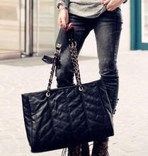 包包2013新款潮女韩版时尚简约链条上班休闲单肩手提包包女式大包