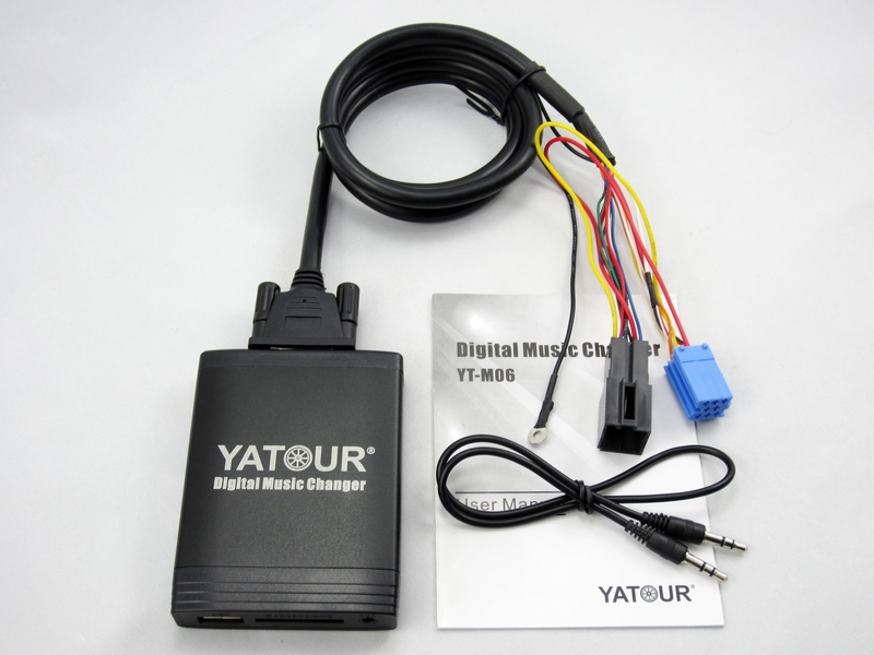 Чейнджер Yatour  CD IPOD/USB B5/A6