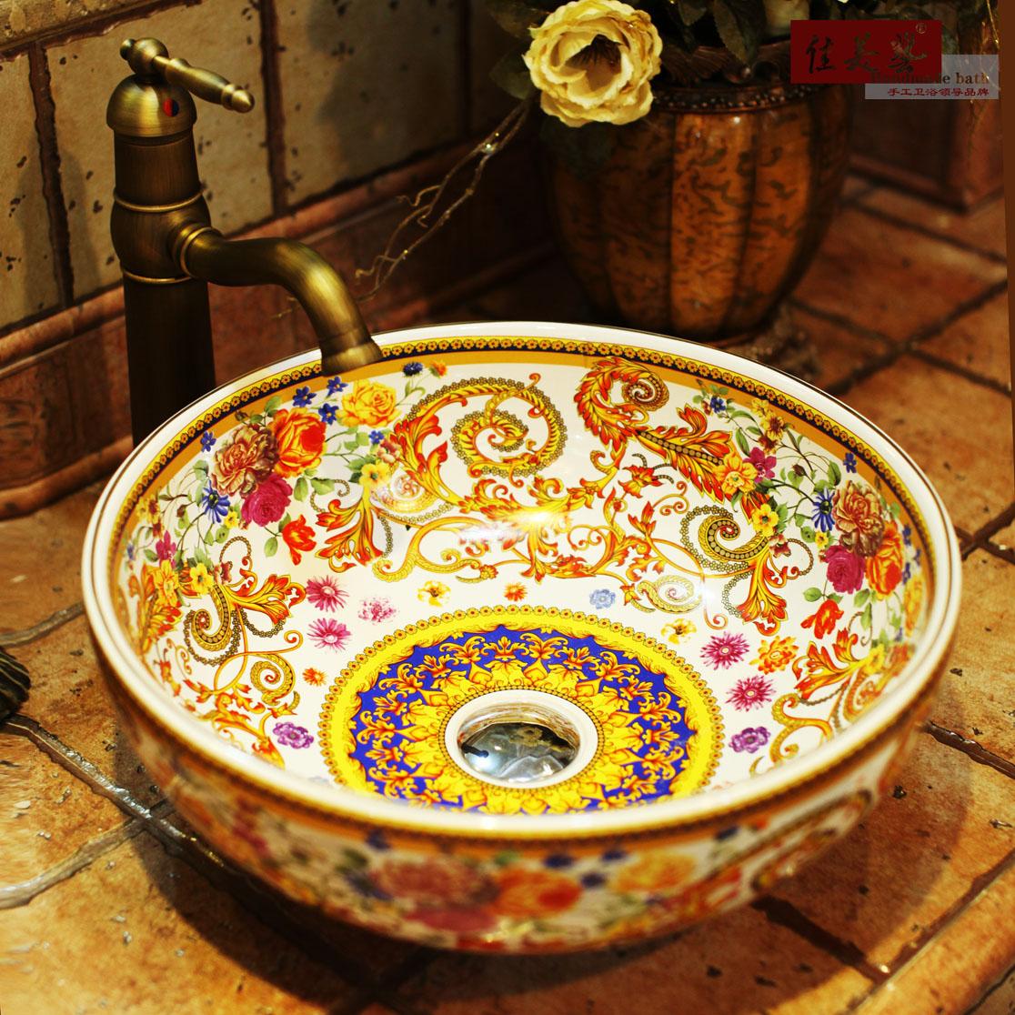 Раковина для мебели Carmel Arts  198#