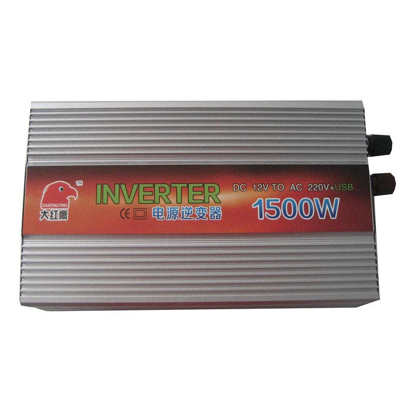 Автомобильный инвертор Red Eagle  1500w USB