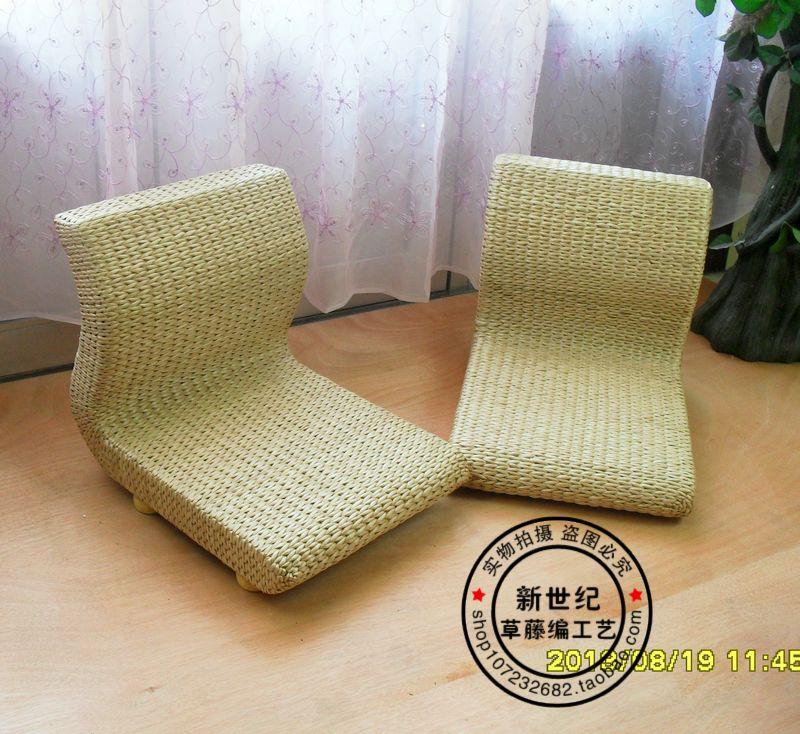 Стулья для татами После японских татами стул IKEA единого и стул детей соломы досуг стул ленивый задней комнате