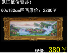 Sale European landscapes painting Pure hand-painted lobby restaurant adornment bedroom living room