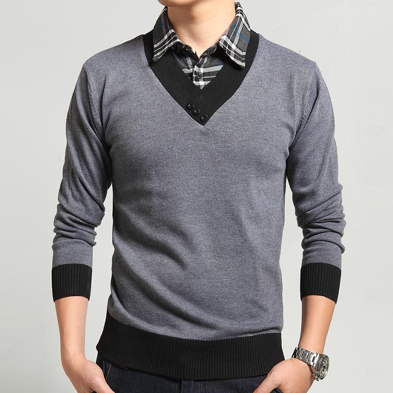 Пуловер С Рубашкой Мужской С Доставкой