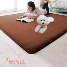 Pet dogs and cats coral velvet carpet pet litter dog warm cushion cushion sofa thermal pad Can be customized