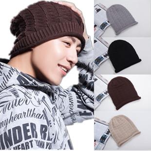 韩版保暖护耳男女款针织毛线帽