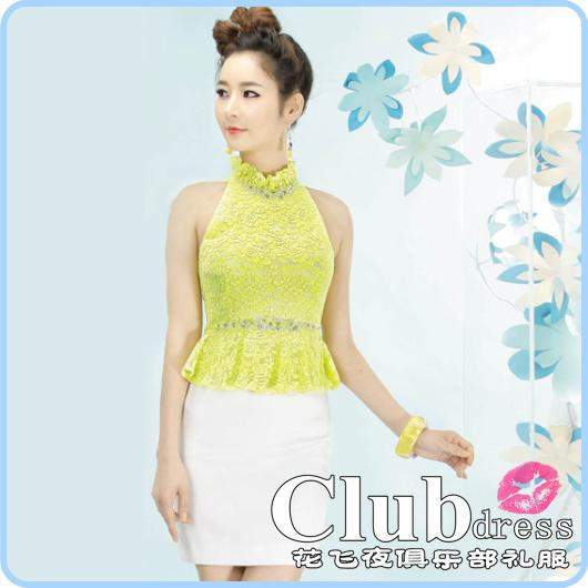 夏季新款小礼服裙新娘装伴娘服结婚敬酒服晚礼服短款花色1222