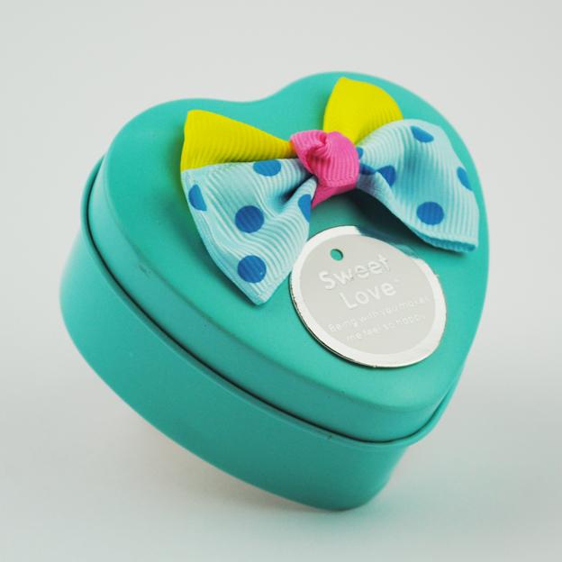 新款马口铁欧式喜糖盒子 Tiffany爱心喜糖盒创意 铁盒喜糖盒批发