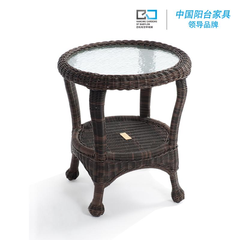 Чайный столик Вавилон балкон мебель, ротанг конец таблицы сад средиземноморского стиля простая таблица три цвета Факультативного
