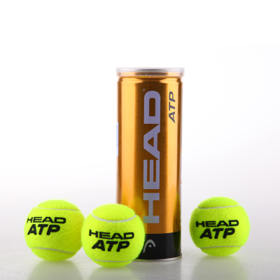 ATP Tennis Masters Hyde authentic designated ball HEAD three golden balls loaded canned highlight / wool