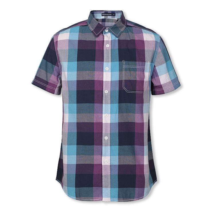 Рубашка мужская The meters Bonwe 221167 119 Короткие рукава (длина рукава <35см)