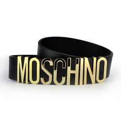 [亏本冲量] 莫斯奇诺 moschino裙子腰封 腰带 配牛仔裤 女士字母皮带双面双