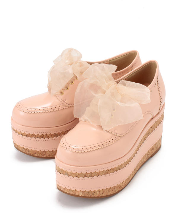 198 LIZLISA in spring and autumn the new sweet and thick-soled shoes--shoes of platform shoes