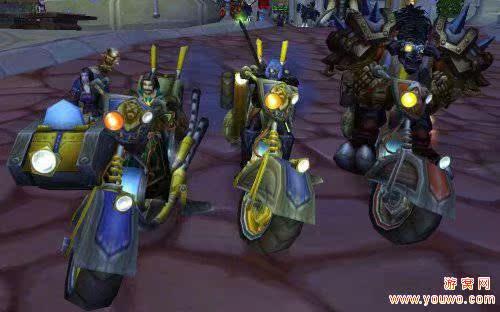 魔兽世界工程学双人图纸/机械师的摩托车/坐骑意思建筑pyy机械什么图片