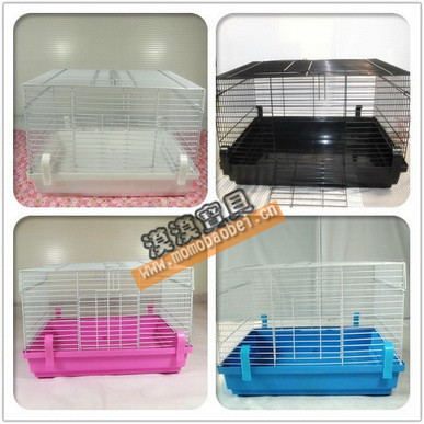 Shih squid squirrel bear hamster cage white base and blue base base base black powder-based foundation cage cage diy bear hamster cage
