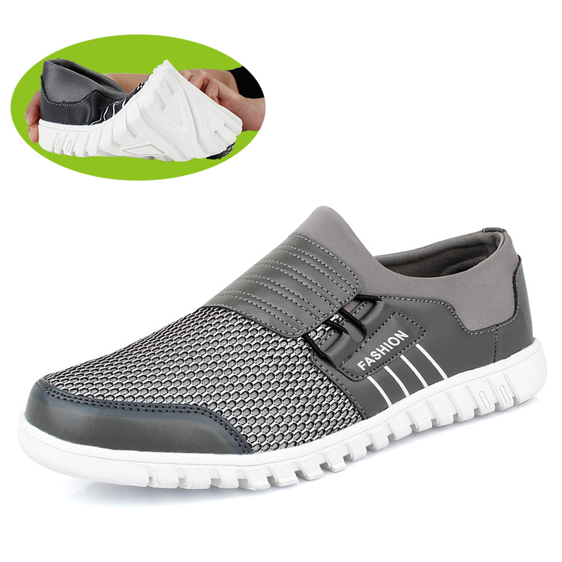 Summer men's breathable honeycomb mesh shoes shoes men's shoes casual sneaker set foot lazy men's tribe