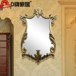 复古欧式镜子 奢华浴...