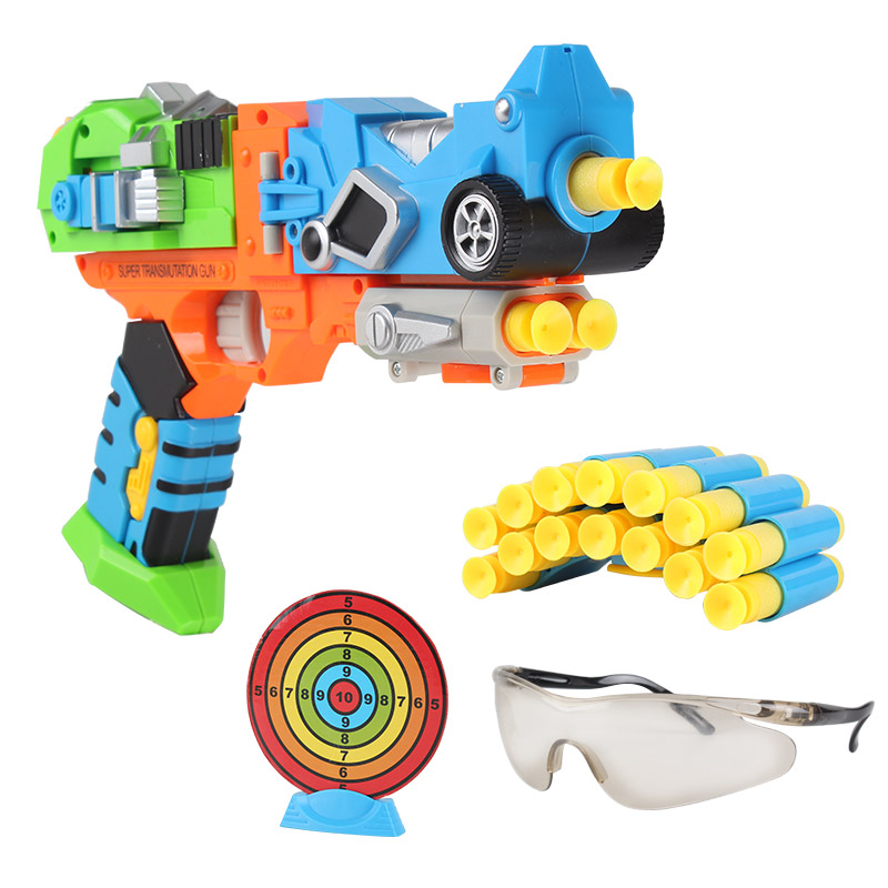 CNY ¥189.00, the transformers the soft shells toy gun puzzle safety  stimulate competition to send clip goggles 14