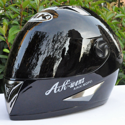 Free shipping special genuine AK / Iki electric car racing motorcycle helmet warm winter helmet full helmet 910YH