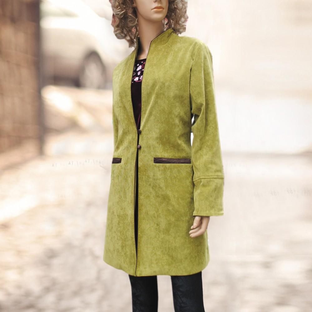 2014春款时尚外套气质短风衣系列sy2014110601hq秋香绿