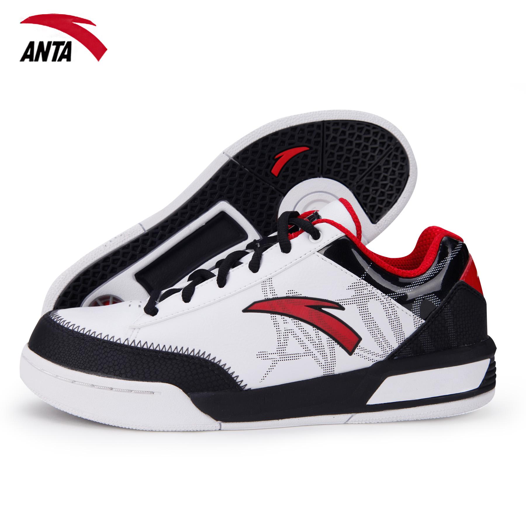 баскетбольные кроссовки Anta 91231002 12 Летом 2012 года Мужские Искусственная кожа