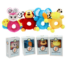 Melon round hand bell Cute animal elephant puppy bees fawn modelling The baby hand bell plush