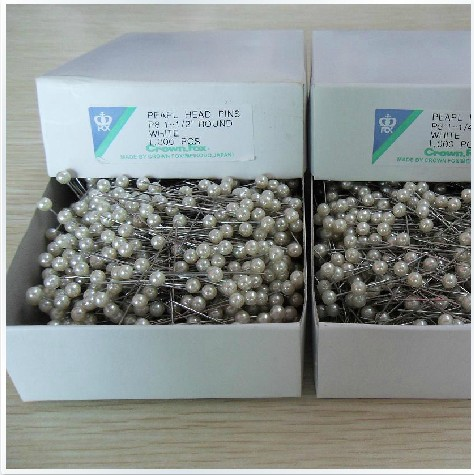 Булавки Specials bead needle Japan 1000 Fox imported beads Crown Pearl pin needle sticks 1000 pin 1000