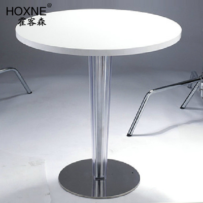 Huo Sen off Devil Roundtable B section white round table table table modern reception desk negotiation table