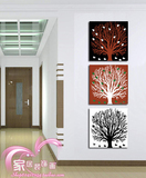 Meishimeike Mediterranean-style frameless painting decorative painting restaurant starfish seashell paintings modern wall art prints children's room triple