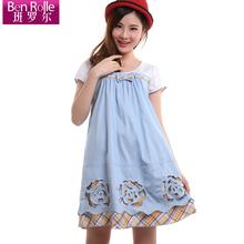 班罗尔 优品孕妇裙 韩版显瘦 孕妇连衣裙子 孕妇装 夏装 时尚新款图片
