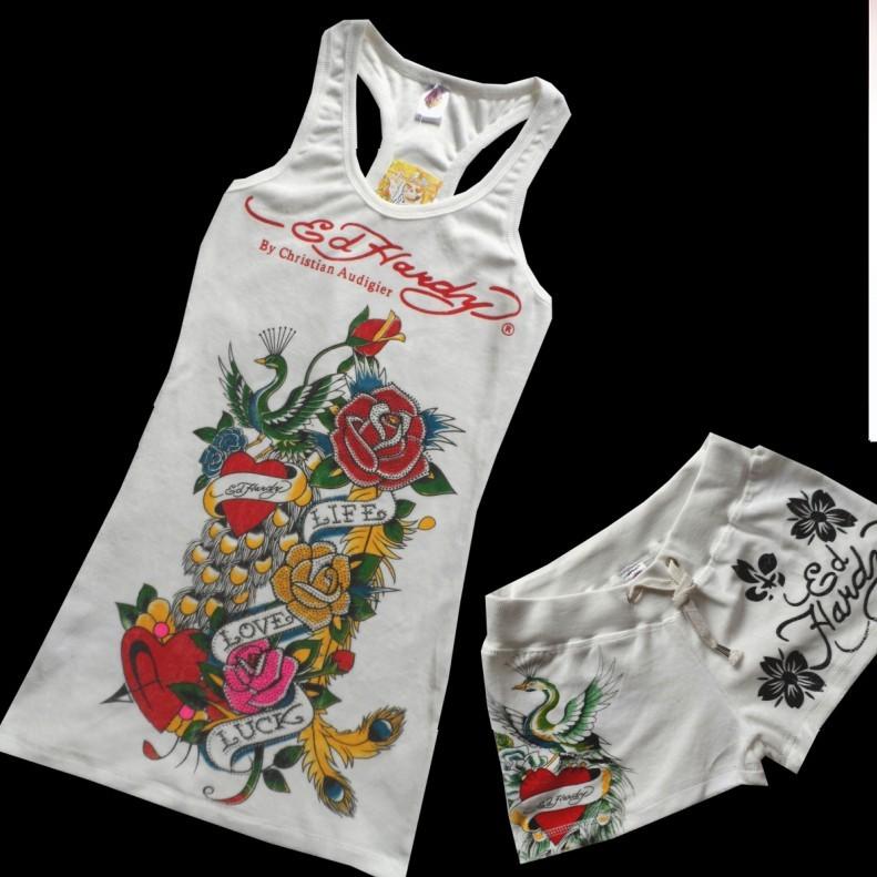 Одежда для отдыха Ed hardy 2013 2012 для девушки 18-25 лет