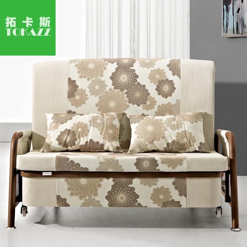 拓卡斯家具 书房沙发床 1.2米沙发床 单人 双人 1.5米折叠沙发床