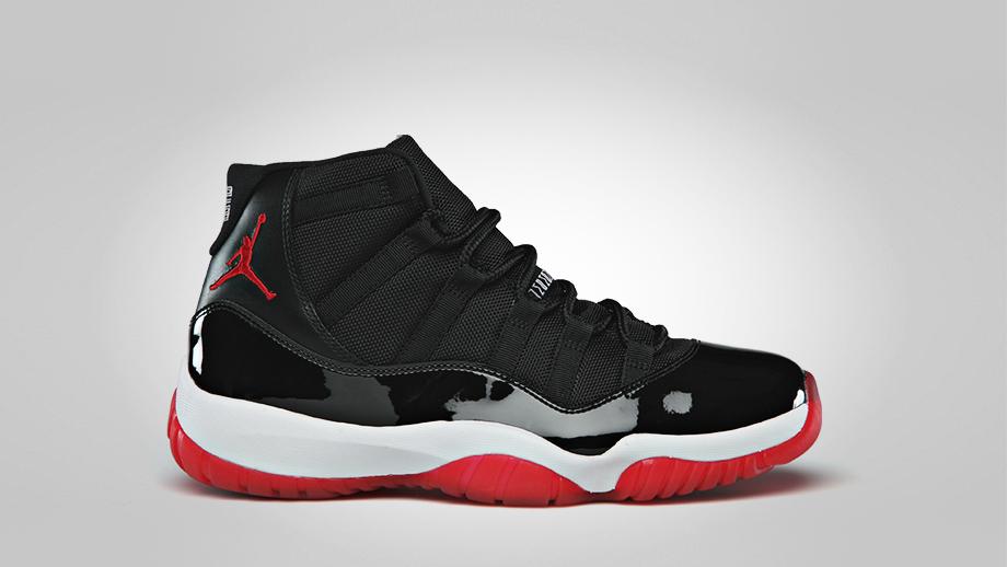 баскетбольные кроссовки Nike air jordan AIR JORDAN 11 XI BRED RETRO