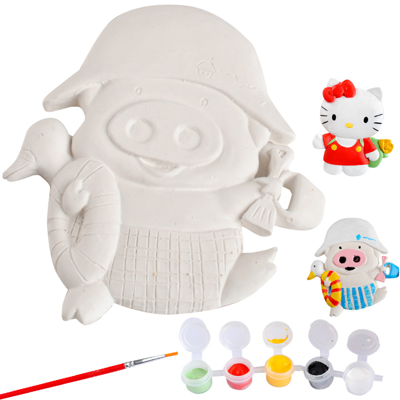 Draw 3D three-dimensional magnetic paint painting children's creative DIY hand painted toy baby toys with reduction