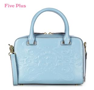 Сумка пять plus2013 новый женский осенний наряд тиснением стильная коробка-Тип сумка наплечная сумка двойной-использовать пакет 2133528020