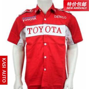 Гоночный костюм Служба/автомобиль F1 Toyota автомобилей и мотоциклов одежда/Одежда/Одежда/Спецодежда/групп сотрудников команды носить пакет почта