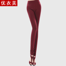 Uniqlo America 2013 Korean version of casual women pants were thin and slim waist big yards tide Ms. Leggings Summer 2201