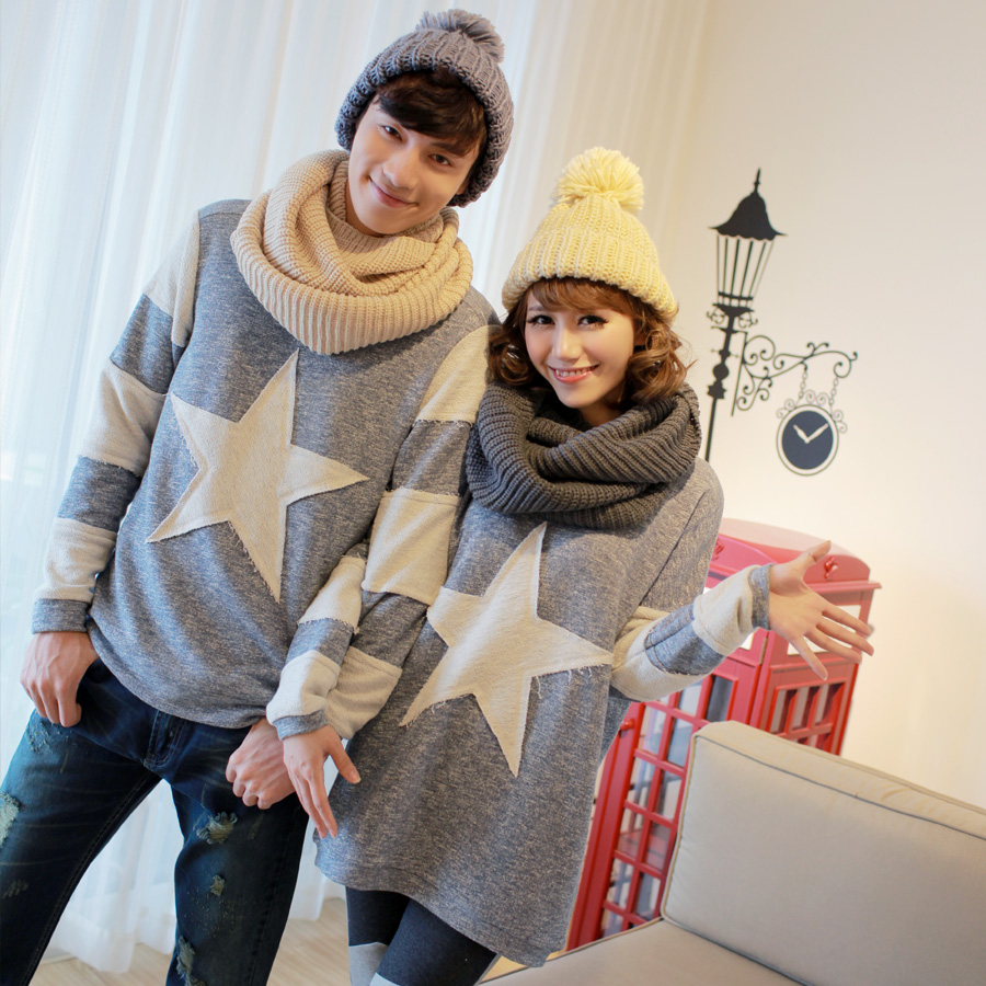 Lovers Hitz Korean version of casual women's pullover sweater outside big yards loose fat MM Mei Tis QLZ
