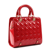 Rotax 2014 autumn/winter collection ling handbag red bag The glossy bag patent leather classic bag