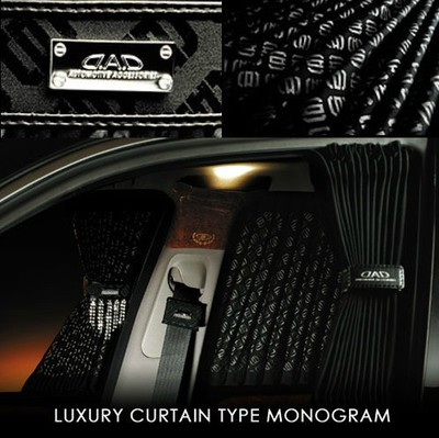 Genuine GM car sunshade car DAD embossed lettering stamped DADlogo insulated curtains with rail