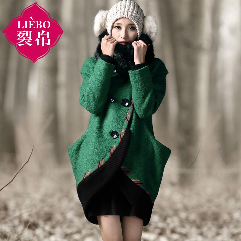женское пальто Liebo 2014 1511001 Liebo Обычная