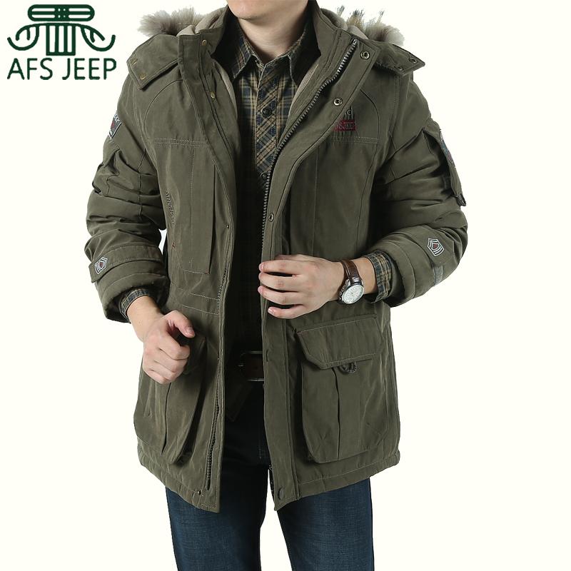 冬装新款 afs jeep棉衣 专柜正品 男装加厚保暖棉衣外套男士棉服