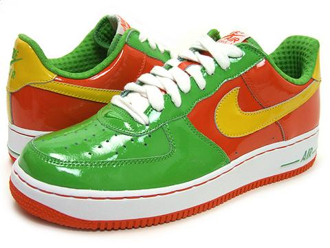 кроссовки Nike 06 Air Force Premium Citrus 45 312945 372