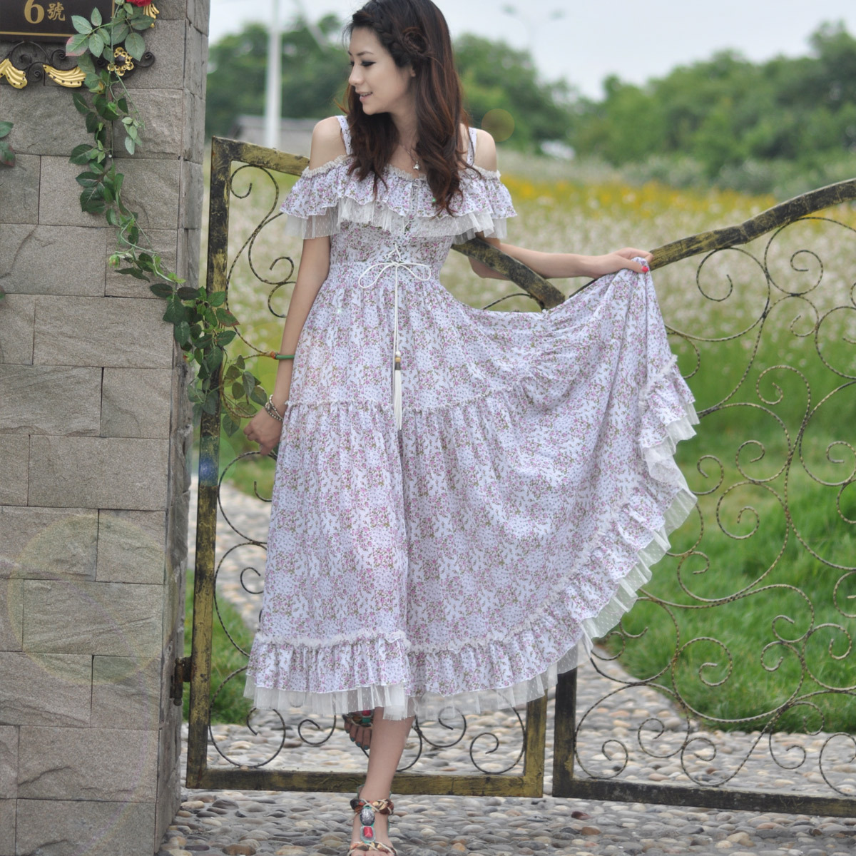 Женское платье YUTONG ut2012bx04 2013