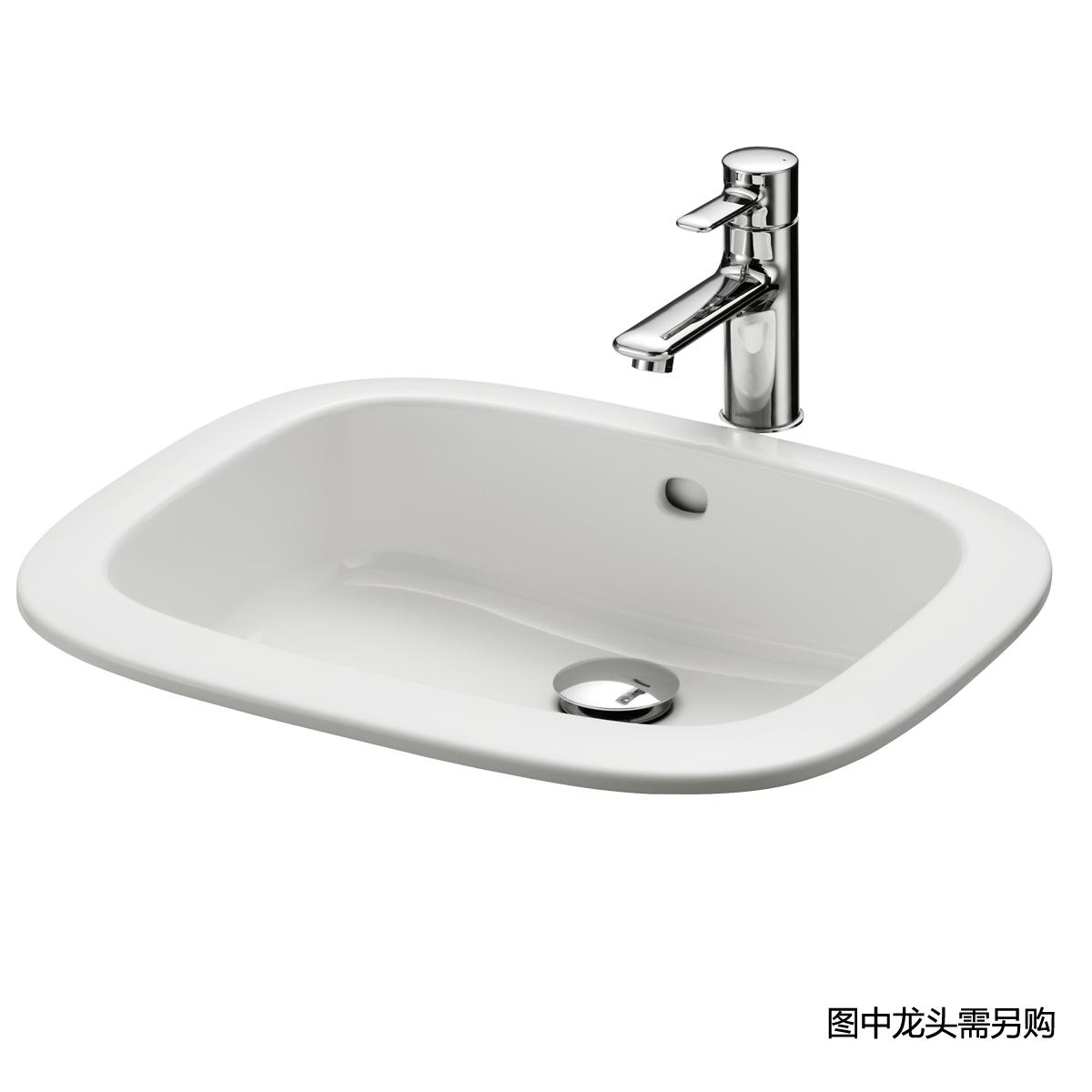 台上式洗脸盆LW763B