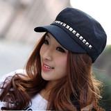 韩版男女海军帽